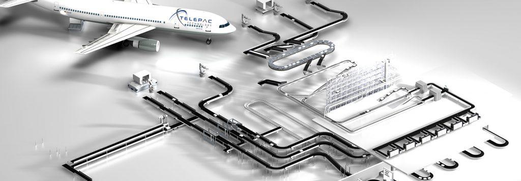 système inspection de bagage aéroport by Telepac Technology