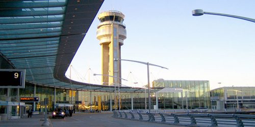 Tour de contrôle pour aéroport et les équipements aéroportuaires